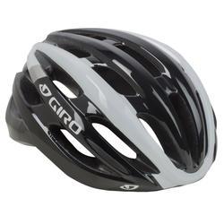 Racehelm Giro Angon zwart/grijs/wit
