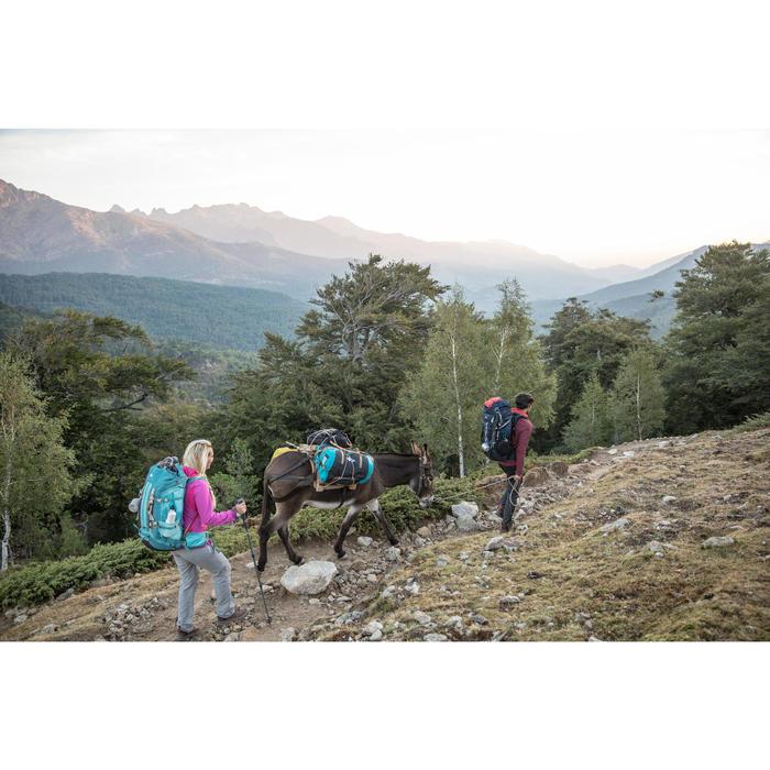 Bolsa Viaje de Montaña y Trekking Viaje Forclaz Extend 40 a 60 Litros Azul