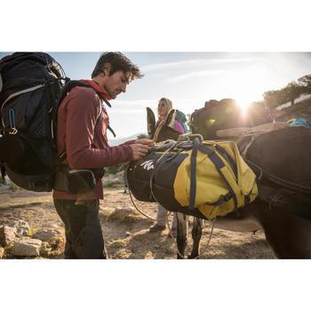 Reistas voor trekking Extend 80 tot 120 liter grijs