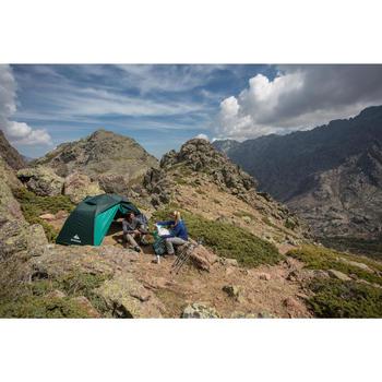 Tente de trek Quick Hiker 2 personnes verte - 1123374