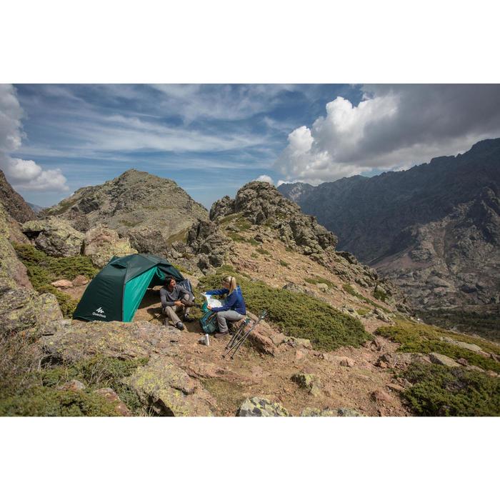 Trekkingtent Quick Hiker 2 personen groen