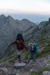 Afritsbroek voor heren trekking Forclaz 100 - 1123380
