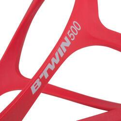 Portabidón bicicleta 500 rojo