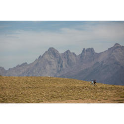 Débardeur trekking montagne TREK500 mérinos femme noir