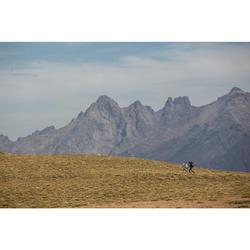 Merino topje voor bergtrekking Trek 500 dames zwart