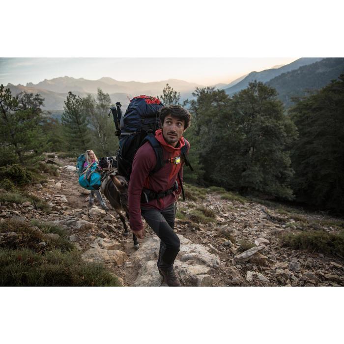 Sac de transport Trekking Voyage extend 40 à 60 litres bleu