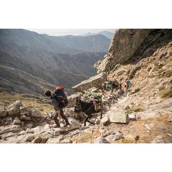 Bolsa de transporte Trekking Viaje extend de 40 a 60 litros Caqui