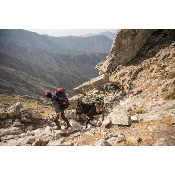 Débardeur mérinos trekking montagne TREK 500 femme noir