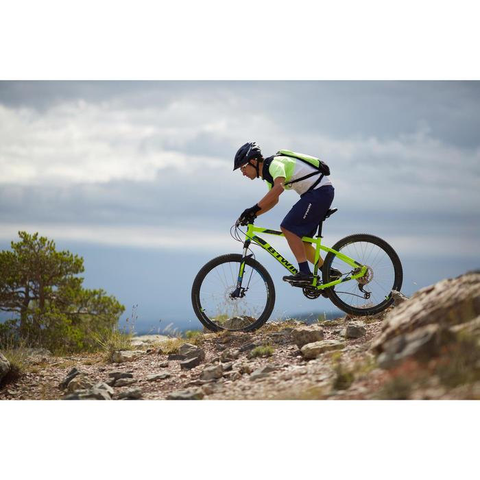 Mountainbike 27,5 Zoll Rockrider ST520 neongelb