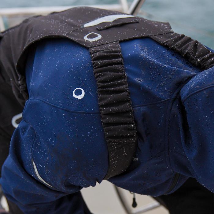 Salopette de quart Ozean 900 Homme imperméable et respirant Noire - 112364
