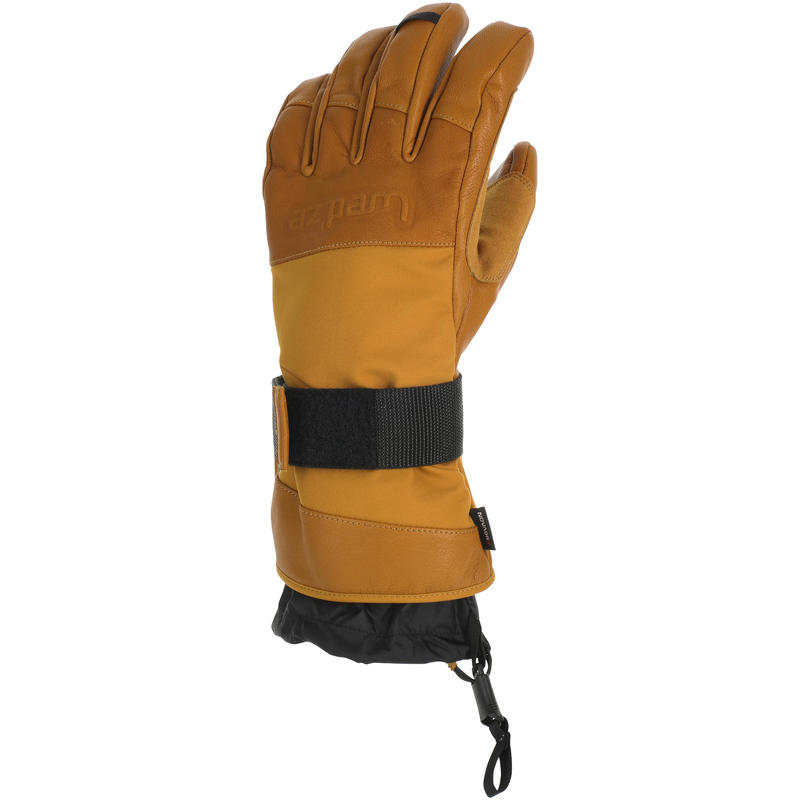 GLOVES ADULT FR SKIING FR 900 BROWN