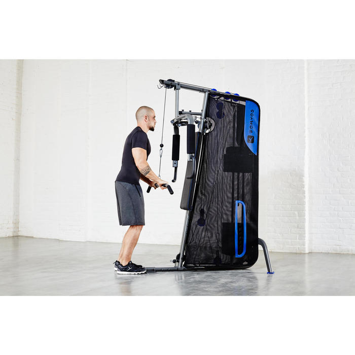 Appareil à Charge Guidée Home Gym Compact Musculation - 112387