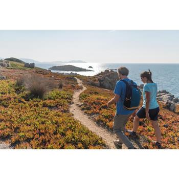 Hosenrock Rock/Shorts Naturwandern NH100 Damen marineblau