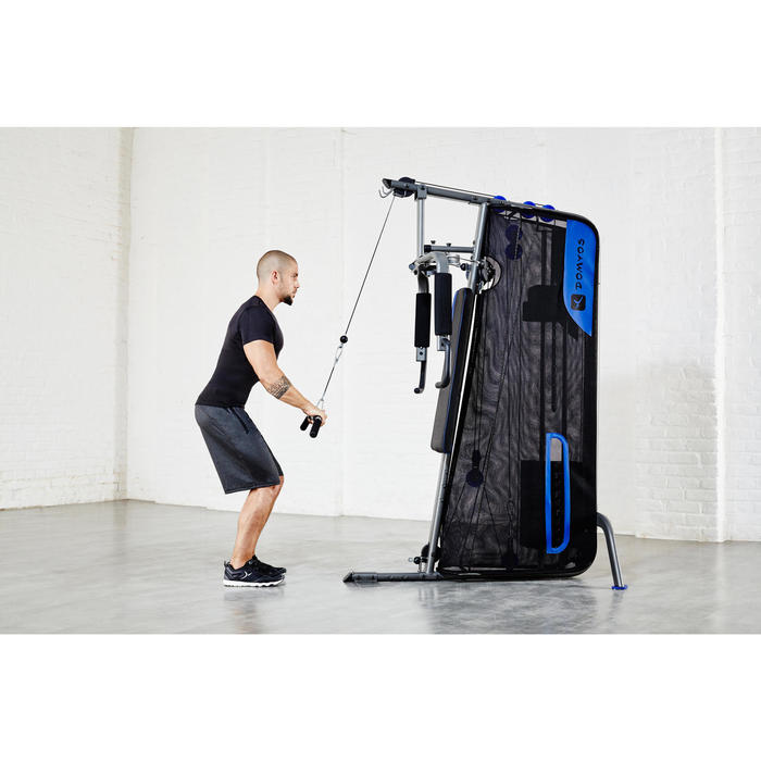 Appareil à Charge Guidée Home Gym Compact Musculation - 112388