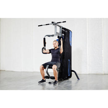 Appareil à Charge Guidée Home Gym Compact Musculation - 112389