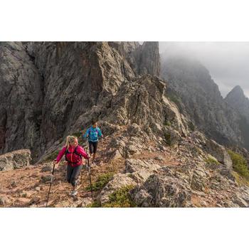 Legging de randonnée rapide Femme FH500 Helium Gris chiné - 1123899