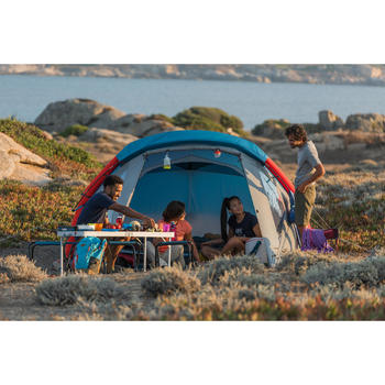 Campingtisch mit 4 Hockern
