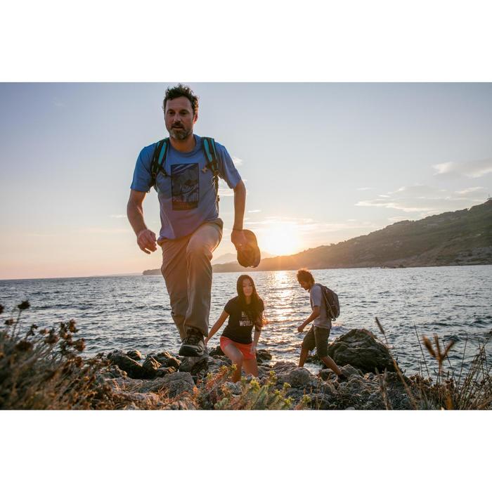 Pantalón senderismo en la naturaleza hombre NH500 teja