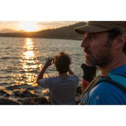 Casquette de Trekking voyage - TRAVEL 500 marron