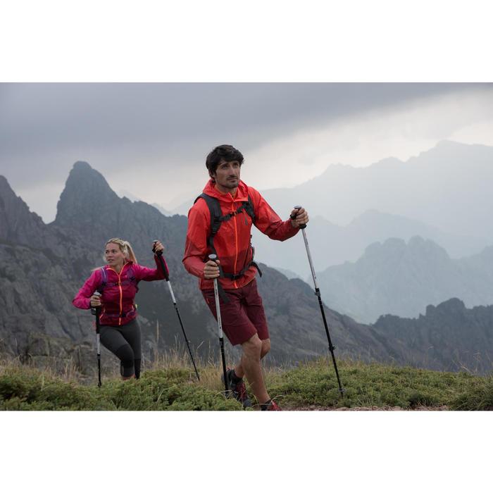Legging de randonnée rapide Femme FH500 Helium Gris chiné - 1123985
