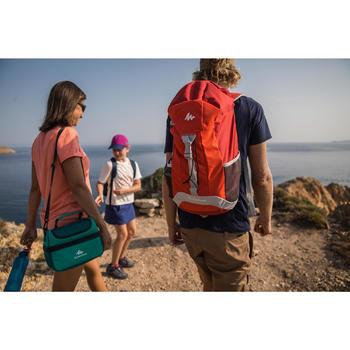 Wanderrucksack Naturwandern NH100 30 Liter rot/grau