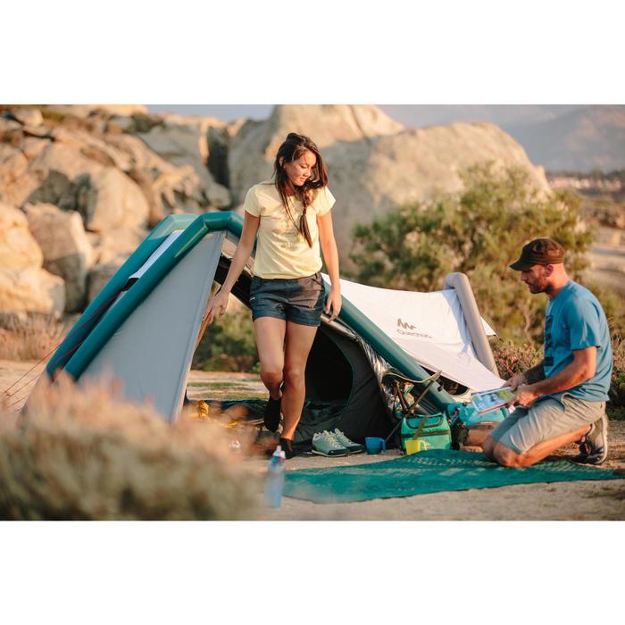 Chaussure de randonnée nature NH500 bleu femme - 1124015