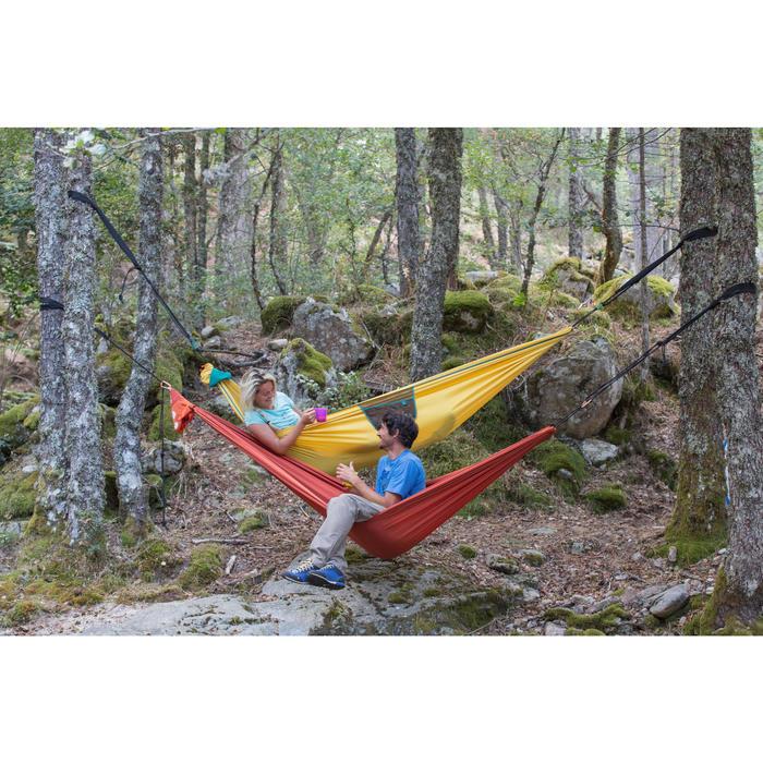 Hamaca Camping Quechua Confort 2 Personas Naranja