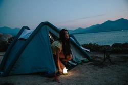 Opblaasbare tent Air Seconds 2 XL Fresh&Black I 2 personen - 1124048