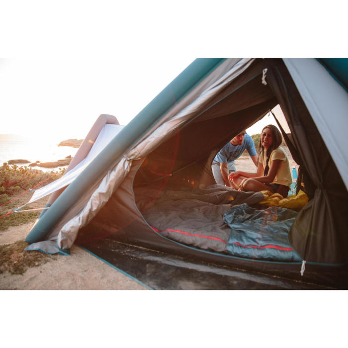 SAC DE COUCHAGE DE CAMPING EN COTON ARPENAZ 10°