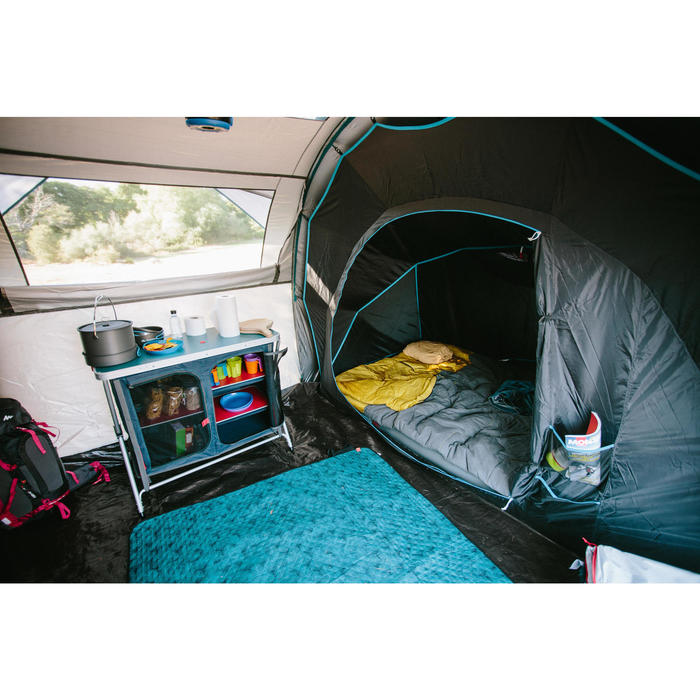 Sac de couchage de camping ARPENAZ 10° coton