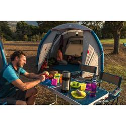 Camping-Messer mit Klingen-Arretierung