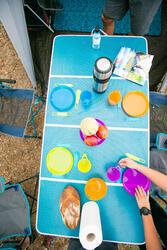 Vouwtafel XL voor camping / bivak 6 tot 8 personen - 1124074