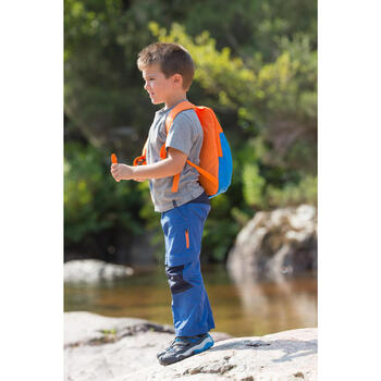 Hike 500 Children's Boy's Hiking T-Shirt – Blue - 1124088