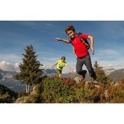 Wandelshort voor jongens Hike 500 bruin