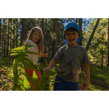 男童健行帽Hike 500-藍色