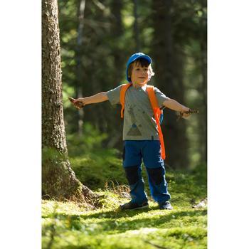 Camiseta de travesía Hike 500 niño Azul