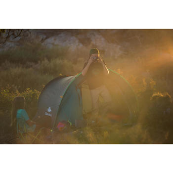 Kinderstoeltje voor camping / bivak groen