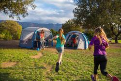 Shelter met deuren Air Seconds XL 6 personen SPF30 grijs - 1124108