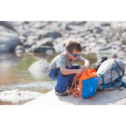 Mochila Montaña Senderismo Quechua 7L Arpenaz MH100 Niño Azul Naranja