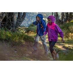 Afritsbroek voor wandelen meisjes Hike 900 zwart