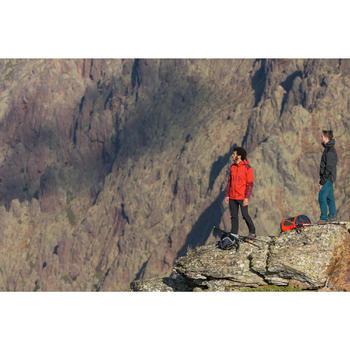 Veste pluie randonnée montagne MH900 imperméable homme Vert/Noir