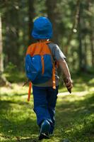 Sac à dos de randonnée enfant Arpenaz 7 Litres junior rouge