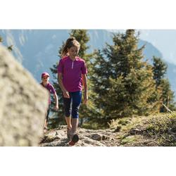 Leggings de senderismo júnior Hike 500 violeta