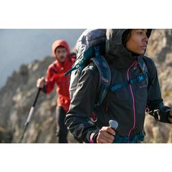 Veste imperméable de randonnée montagne femme MH900 Noire