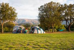 Shelter met deuren Air Seconds XL 6 personen SPF30 grijs - 1124178