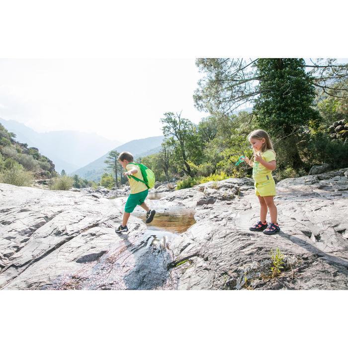 T-SHIRT de randonnée enfant Hike 500 Bleu turquoise