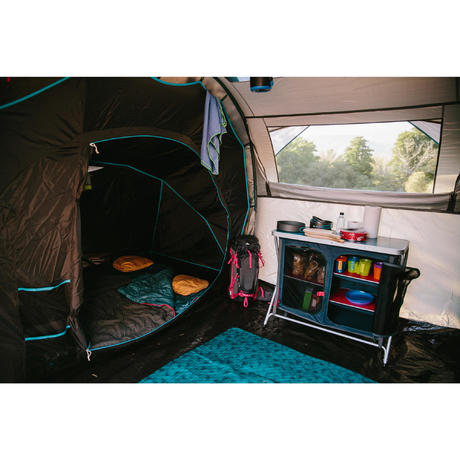meuble de cuisine de camping camp du randonneur bleu quechua. Black Bedroom Furniture Sets. Home Design Ideas