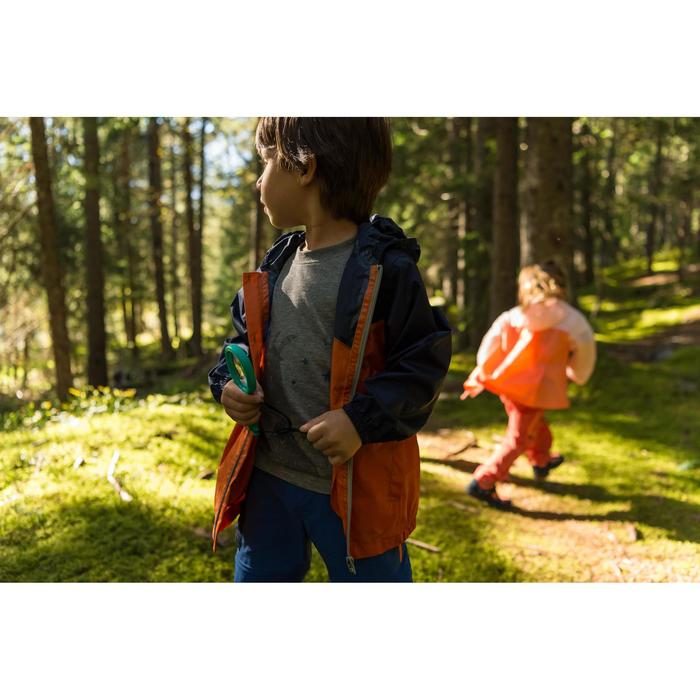 Wandelshirt voor meisjes Hike 500 grijs