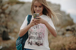 Wandel T-shirt voor meisjes Hike 500 - 1124228