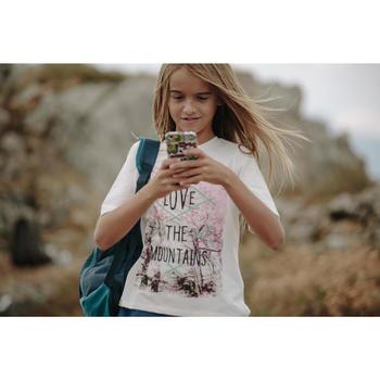 Wandelshirt voor meisjes Hike 500 wit